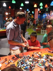 LEGOLAND Race Zone, build your car and race it against others on multiple tracks.