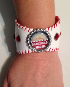One of my baseball cuff bracelets.