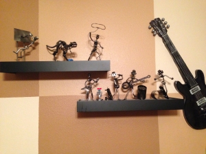 The display of our metal creatures.